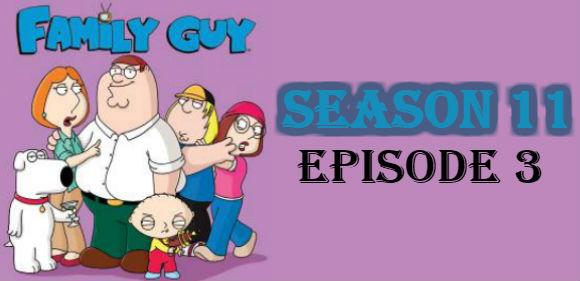 Family Guy Season 11 Episode 3 TV Series